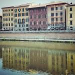 Lungarno di #Pisa. Il viaggio verso oriente e il monte Athos inizia da qui. #Italia #igersPisa