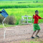 Kite in Battambang *latergram* #d80