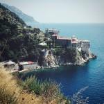 Pochi giorni fa... monastero di Grigoriou *latergram* #grecia #greece #mountAthos #monteAthos