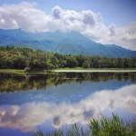 Shiretoko, Giappone *latergram 2011* #hokkaido #giappone #japan #instagramjapan #panorama #reflection #shiretoko #shiretokogoko