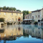 Posto incantevole, antiche terme Just beautiful, ancient spa village #BagnoVignoni #toscana #tuscany #valdorcia