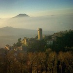 San Leo, Italia *latergram 2011*