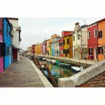 Burano *latergram* #venezia #venice #burano