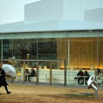 Kanazawa, 21st Century museum of contemporary art *latergram* #kanazawa #instagramjapan #japan #Giappone #igersjapan #ig_kanazawa