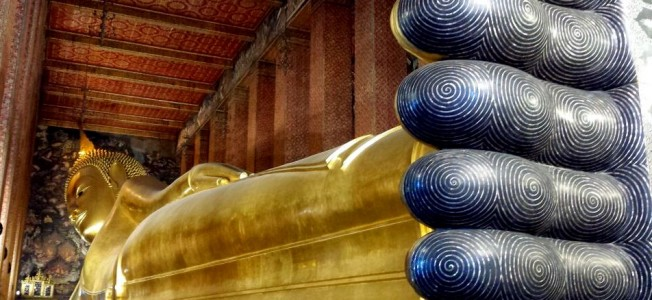 Il Budda sdraiato del Wat Pho