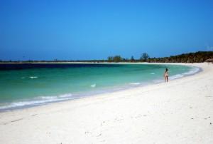 La spiaggia di Cayo Las Brujas (foto di Patrick Colgan, 2013)