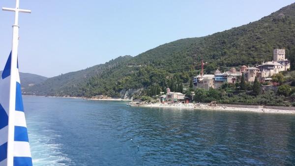 Viaggio al monte Athos: il traghetto