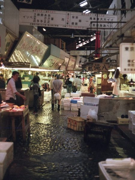 Il mercato Tsukiji di Tokyo