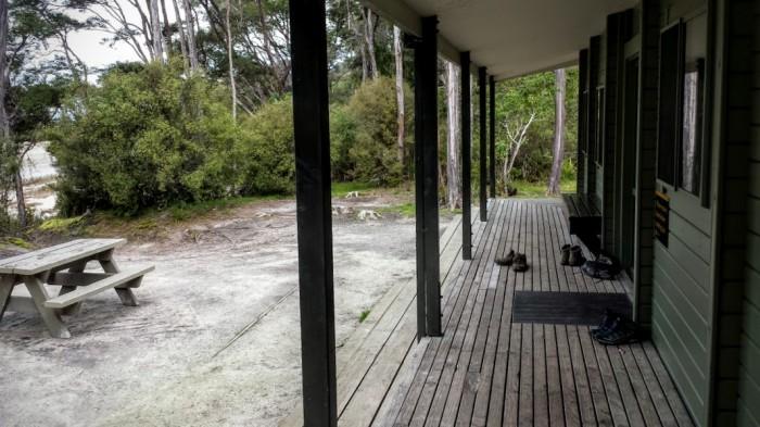 Il rifugio di Bark Bay