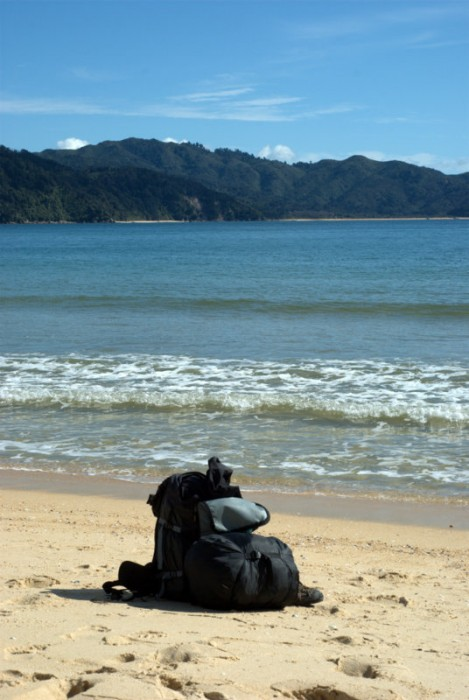 Trekking nell'Abel Tasman: una piccola pausa