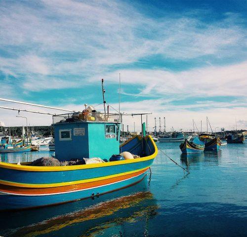 Malta d'inverno: Marsaxlokk