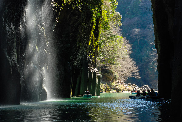 La gorge de Takachiho