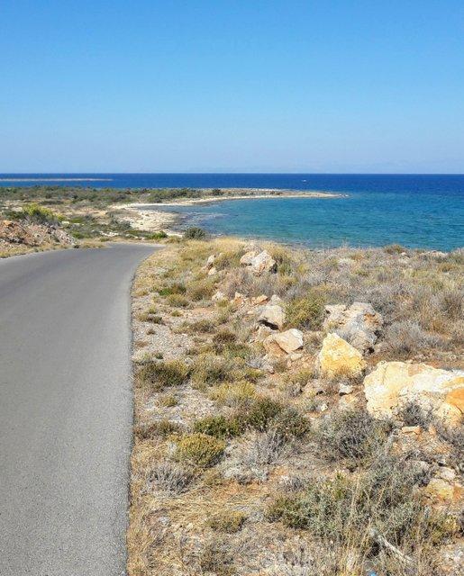 Elafonissos, a quelques kilomètres de routes