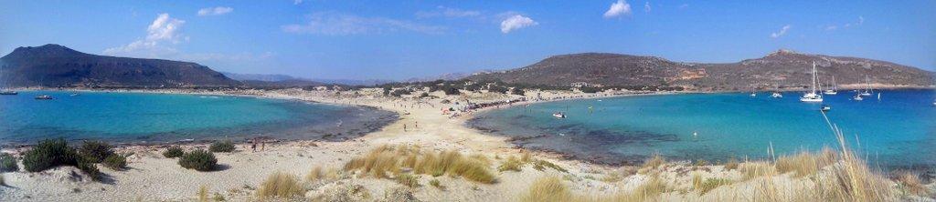 Les plages de Simos