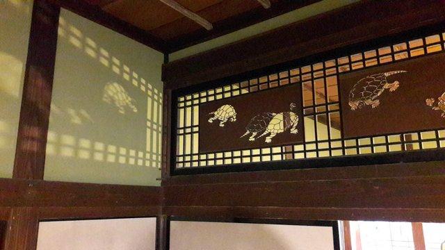 Un détail de la maison d'Ishiguro, Kakunodate