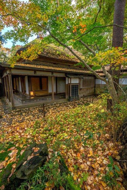 Une maison dans le quartier des samouraïs de Kakunodate
