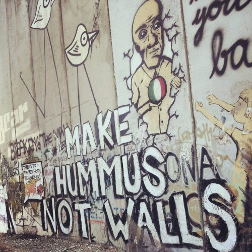 Cisgiordania: make hummus not walls