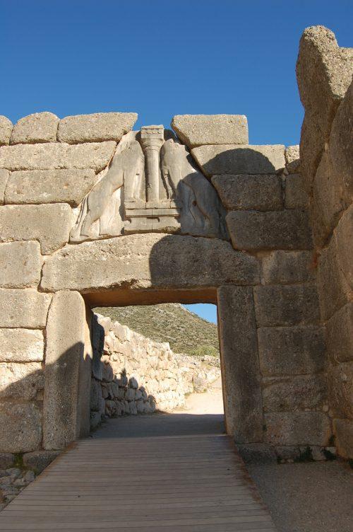 Viaggio in grecia atene capo sunio micene e nauplia - La porta dei leoni a micene ...