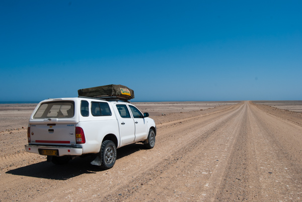 Namibia in auto: il nostro Toyota Hillux 4x4 in Namibia