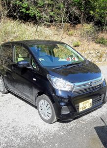 Kei car giapponese, noleggiata