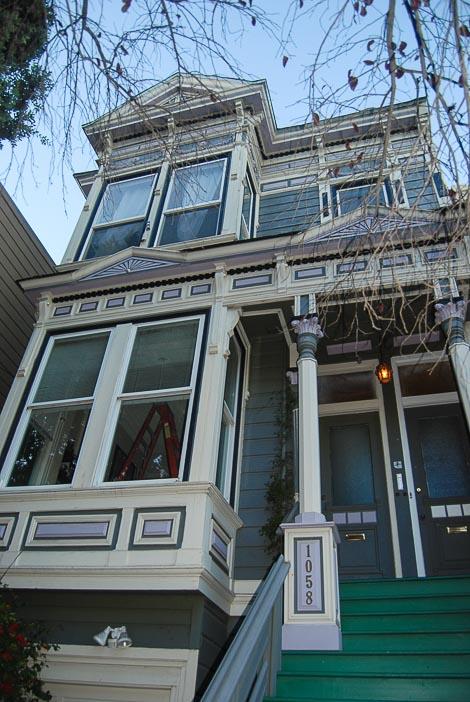 Una casa vittoriana a San Francisco
