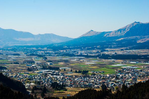 La caldera del monte Aso, Kyushu