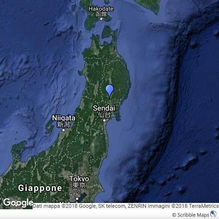 Mappa di Hiraizumi